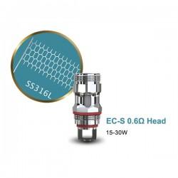 Résistances EC-S 0.6 ohm Eleaf