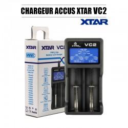 Xtar Chargeur d'accus VC2