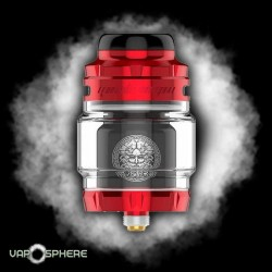 Atomiseur ZEUS X RTA RED & BLACK